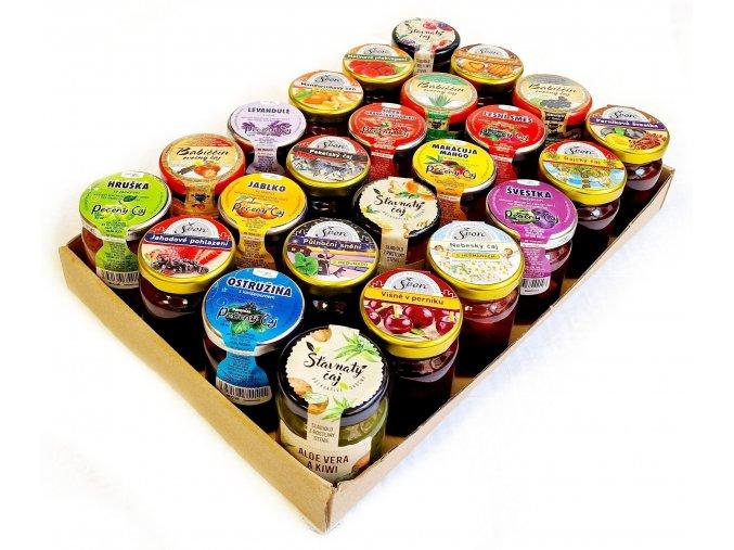 Degustační sada ovocných čajů 55ml, 48ks  DOPRAVA ZDARMA!