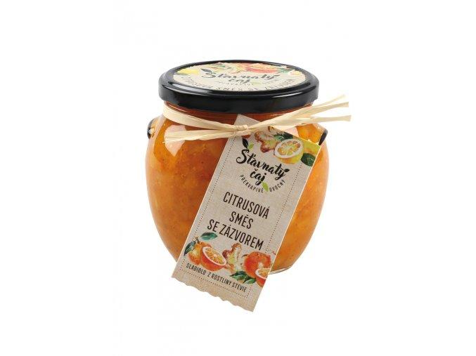 Pečený čaj Madami - Citrusová směs se zázvorem, 520ml