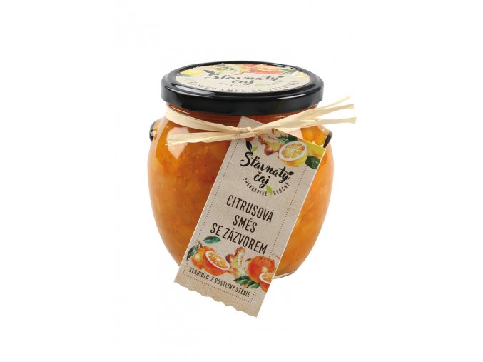 Ovocný čaj Madami - Citrusová směs se zázvorem, 520ml
