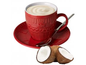 Horká čokoláda Cioconat - Bílá s kokosem, 28g