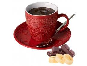 Horká čokoláda Cioconat - Banánová, 28g