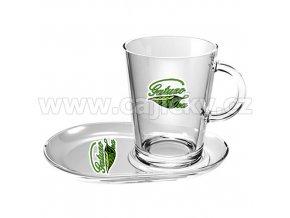 Originální šálek s podšálkem Gatuzo Tea, 2ks