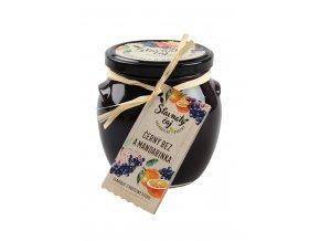 Ovocný čaj Madami - Černý bez s mandarinkou, 520ml