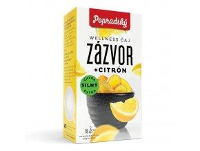 Popradský wellness čaj - Zázvor a Citron