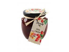 Ovocný čaj Madami - Šípkový s medem, 520ml