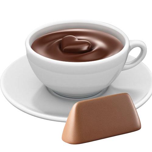 Horká čokoláda Antico Eremo - Nugátová 30g