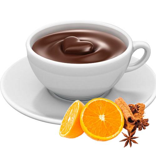 Horká čokoláda Antico Eremo - Pomeranč & Skořice 30g