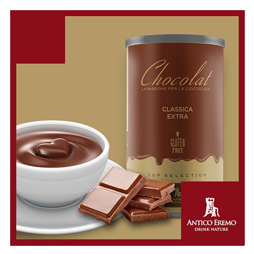 Horká čokoláda Antico Eremo - Dárkové balení Classic 750g