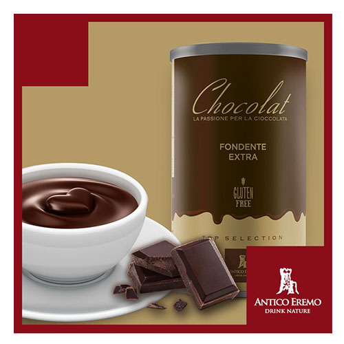 Horká čokoláda Antico Eremo - Dárkové balení Hořká 750g