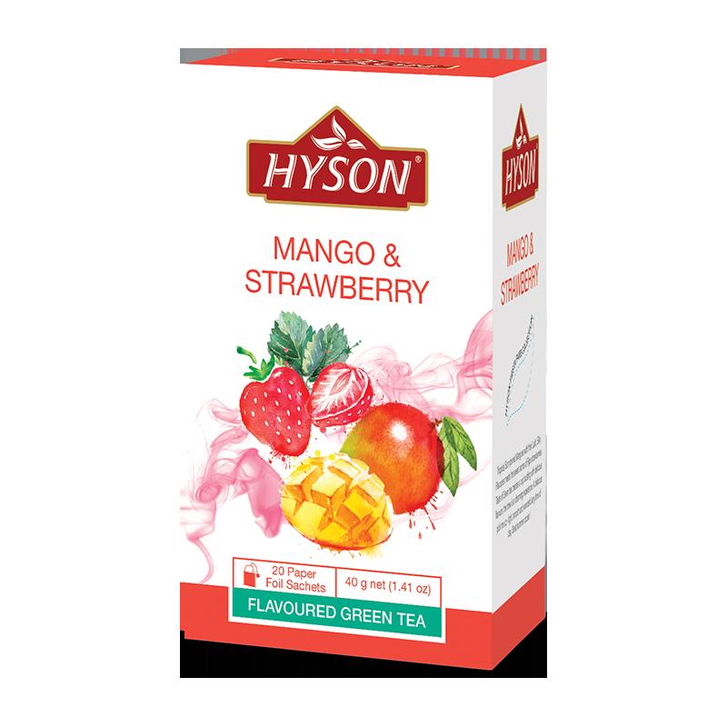 Čaj Hyson - Mango & Jahoda