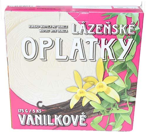 Lázeňské oplatky vanilkové 175g