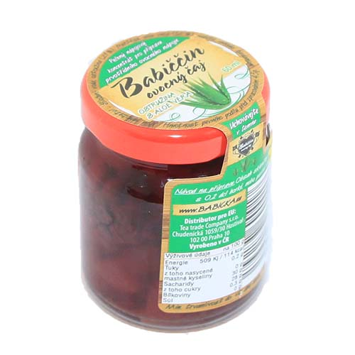 Gemiral Babiččin ovocný čaj Aloe Vera s kardamomem 55ml