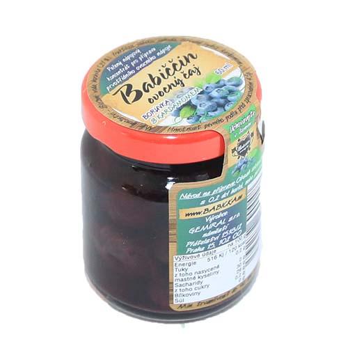 Babiččin ovocný pečený čaj Borůvka s kardamomem 55ml