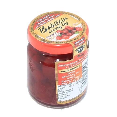 Babiččin ovocný pečený čaj Brusinka se skořicí 55ml