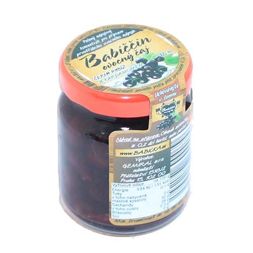 Babiččin ovocný pečený čaj Černý rybíz s kardamomem 55ml