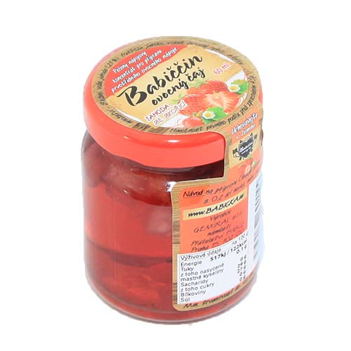 Gemiral Babiččin ovocný čaj Jahoda se skořicí 55ml