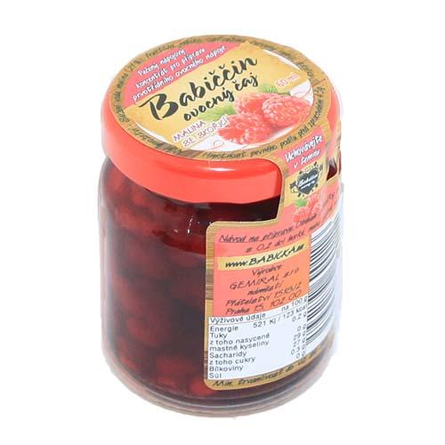 Gemiral Babiččin ovocný čaj Malina se skořicí 55ml