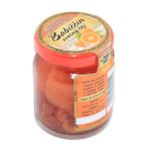 Babiččin ovocný pečený čaj Pomeranč se skořicí 55ml