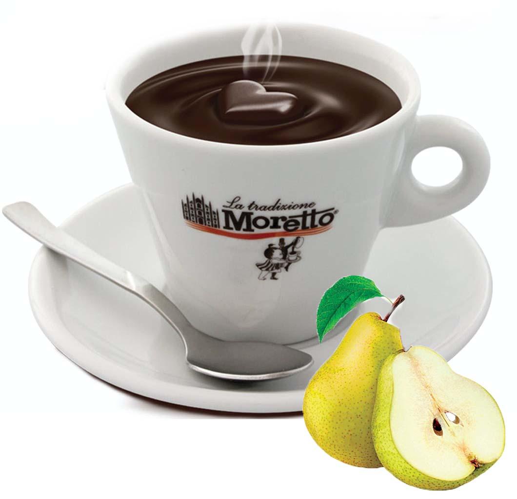 Horká čokoláda Moretto - Hruška 30g