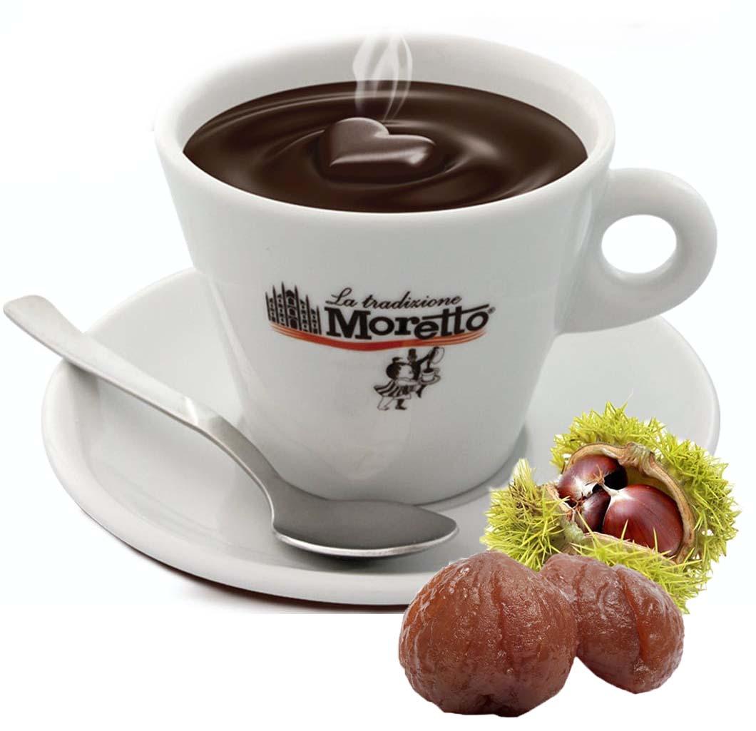 Horká čokoláda Moretto - Ledové kaštany 30g