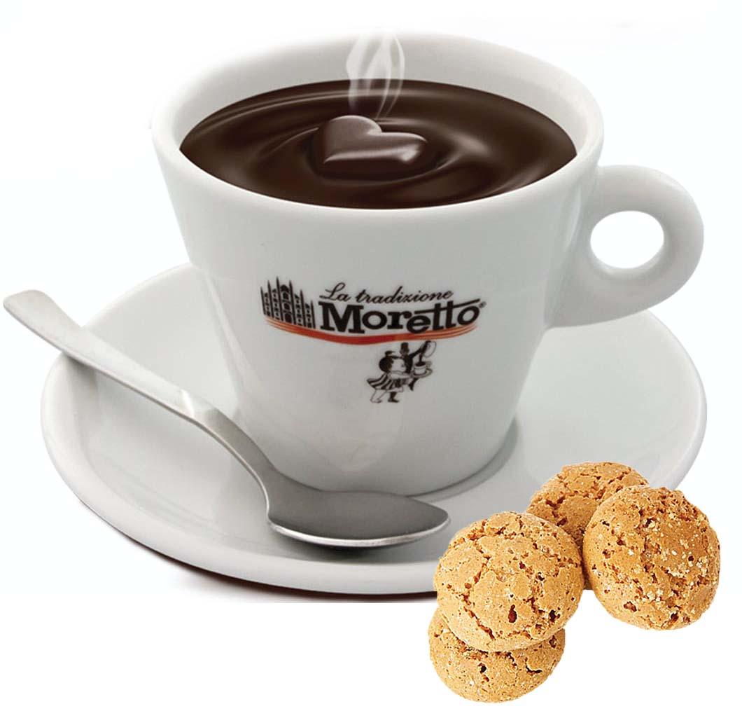 Horká čokoláda Moretto - Amaretto 30g