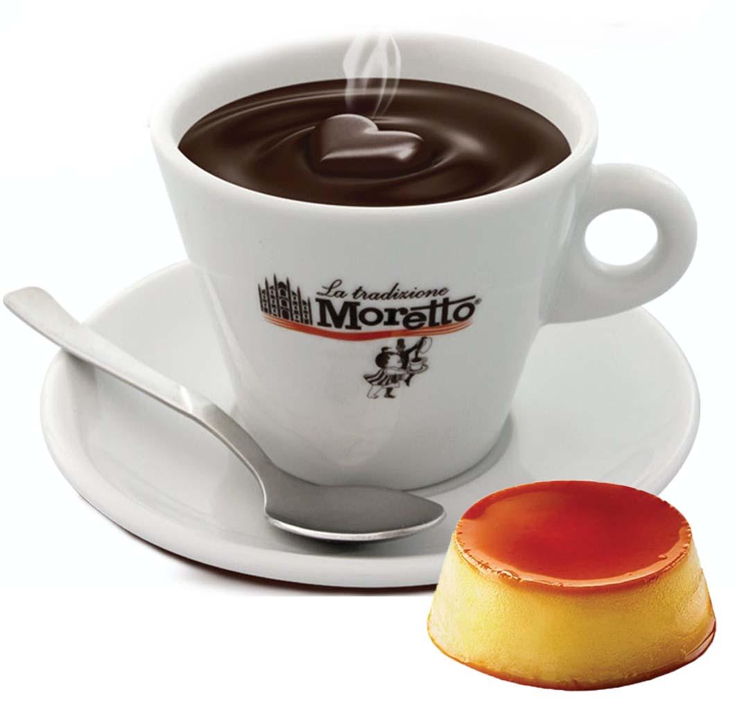 Horká čokoláda Moretto - Karamelová 30g