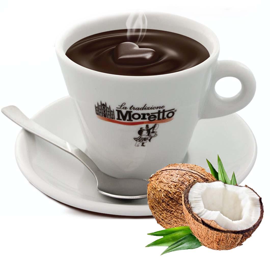 Horká čokoláda Moretto - Kokosová 30g