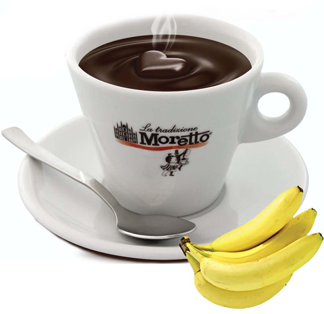 Horká čokoláda Moretto - Banánová 30g
