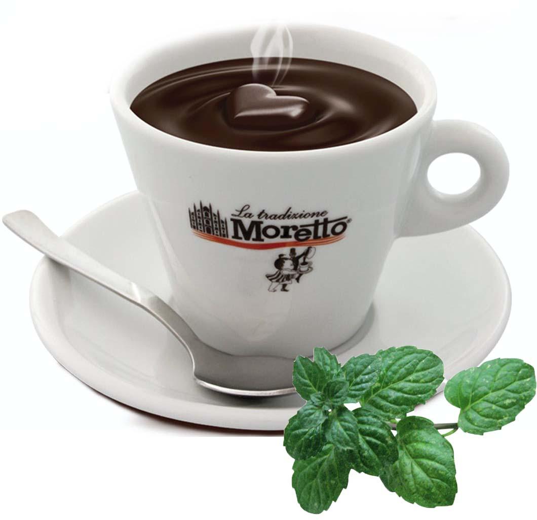Horká čokoláda Moretto - Mátová 30g