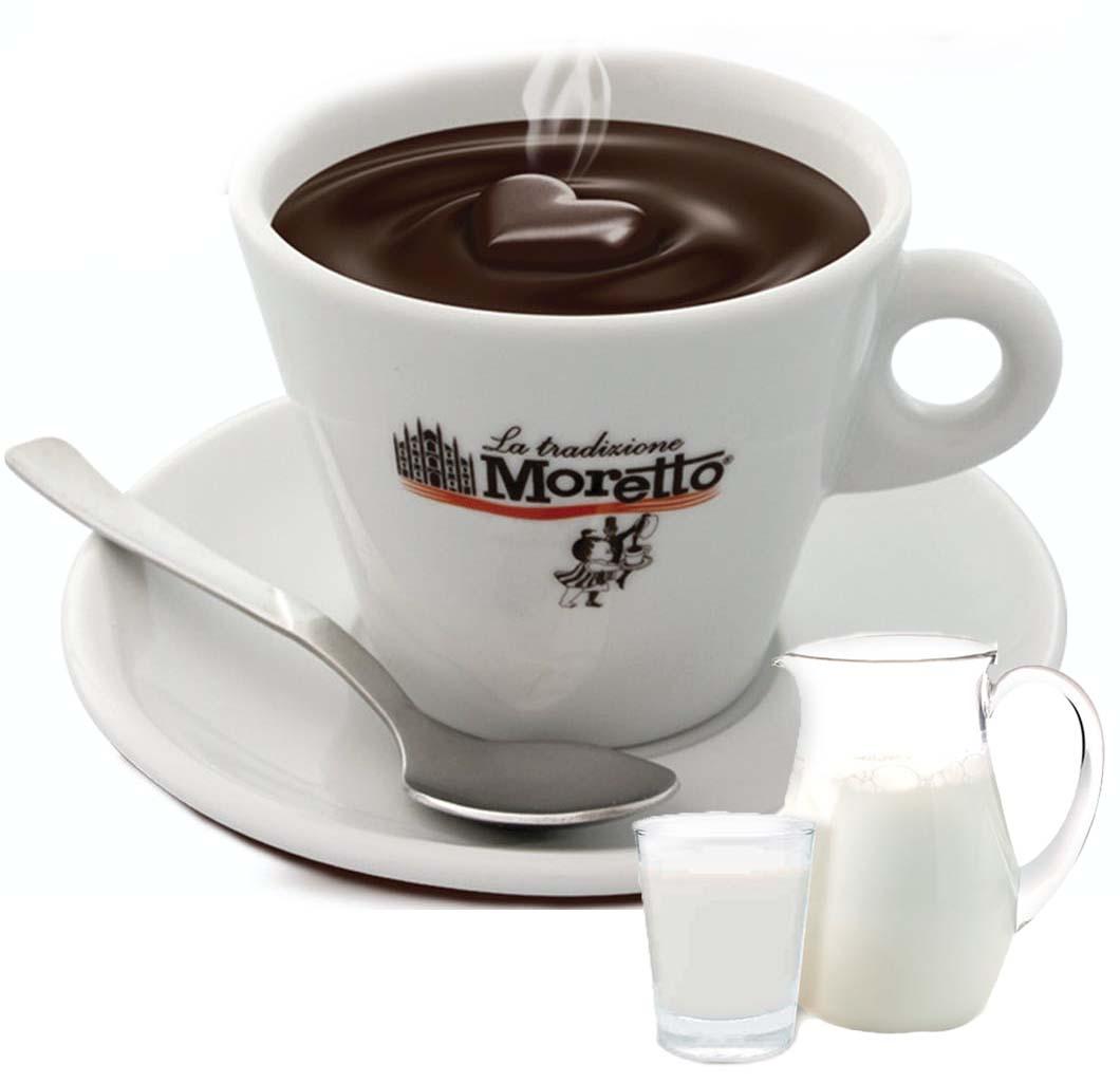 Horká čokoláda Moretto - Mléčná 30g