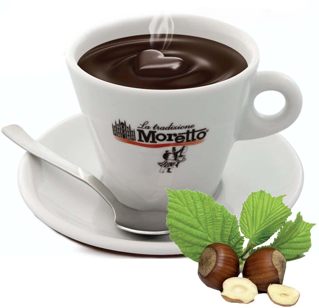 Horká čokoláda Moretto - Oříšková 30g