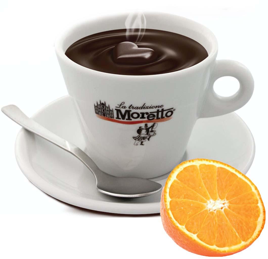 Horká čokoláda Moretto - Pomerančová 30g