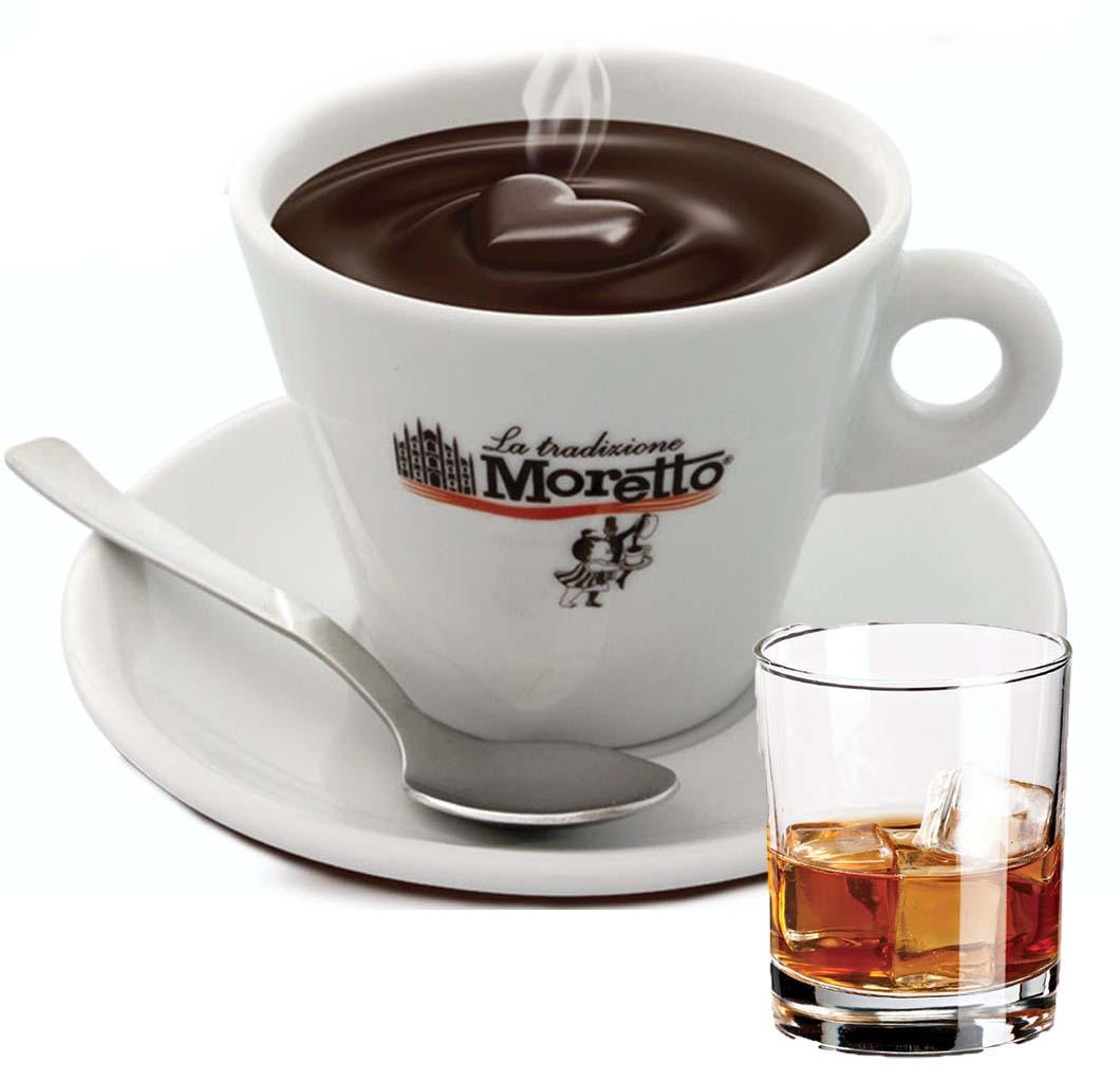 Horká čokoláda Moretto - Rumová 30g
