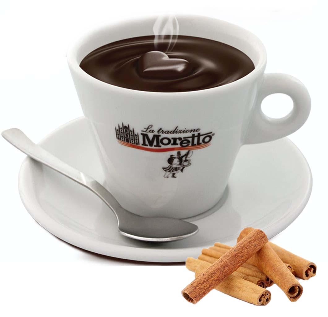 Horká čokoláda Moretto - Skořicová 30g