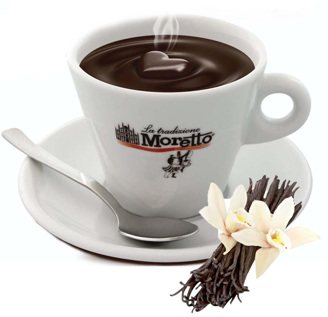 Horká čokoláda Moretto - Vanilková 30g