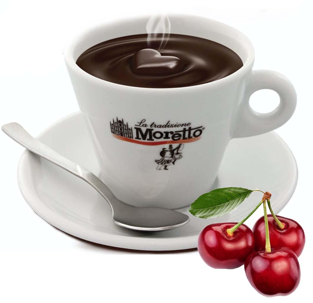 Horká čokoláda Moretto - Višňová 30g