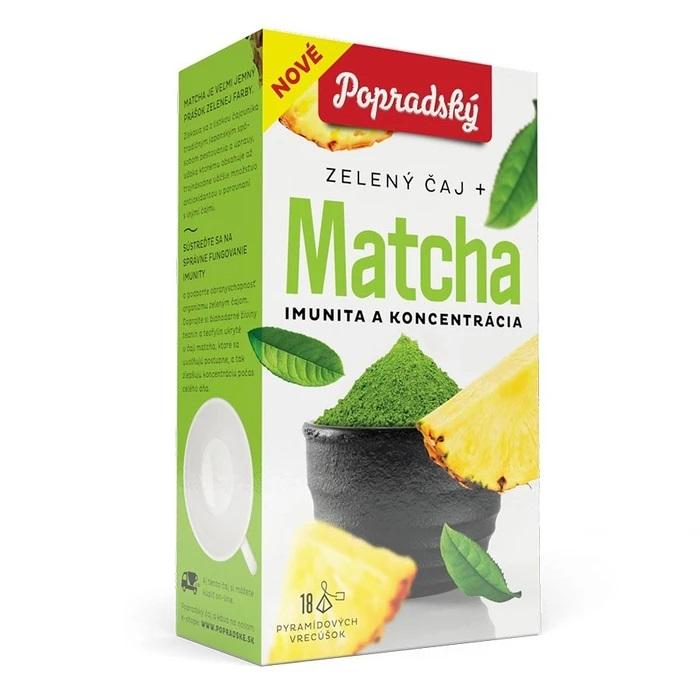 Popradský zelený čaj - Matcha