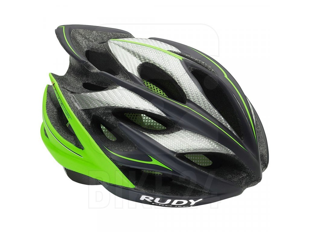 Rudy Project Windmax Helmet - Graphite - Lime Fluo