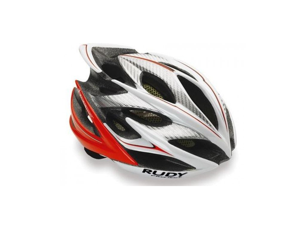 Přilba RUDY PROJECT WINDMAX, white-red fluo shiny