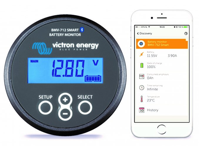 5033 O victron energy battery monitor bmv 712 smart