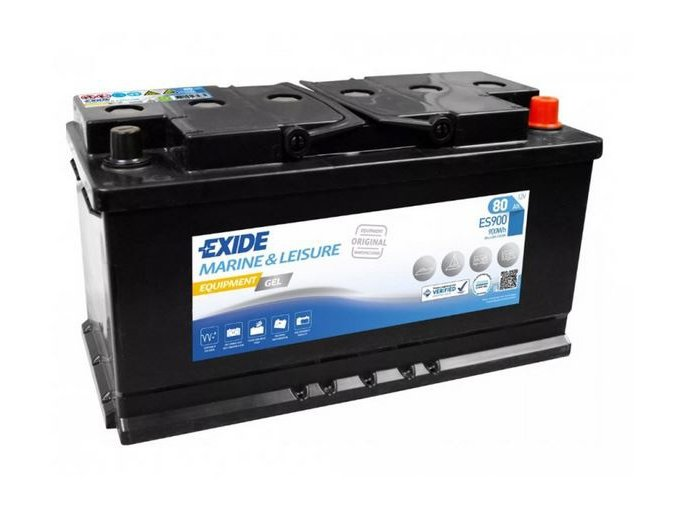 exide equipment gel 12v 80ah es900 original