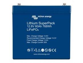 6378 O victron energy lithium superpack 12 8v 60ah 768wh front kopie