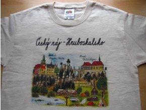 Dětské tričko Zlatý trojúhelník Českého ráje
