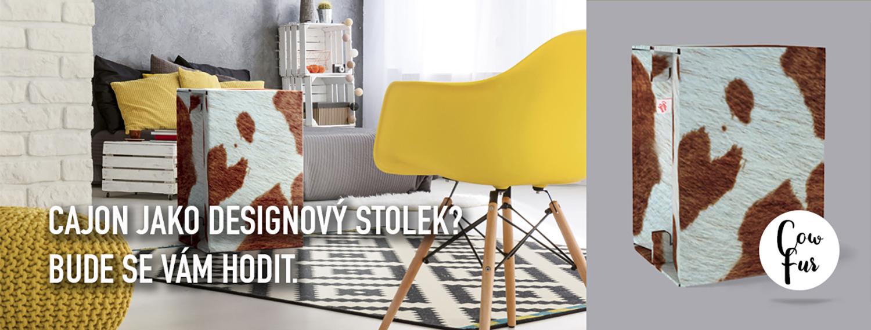 Carton Cajon designový stolek