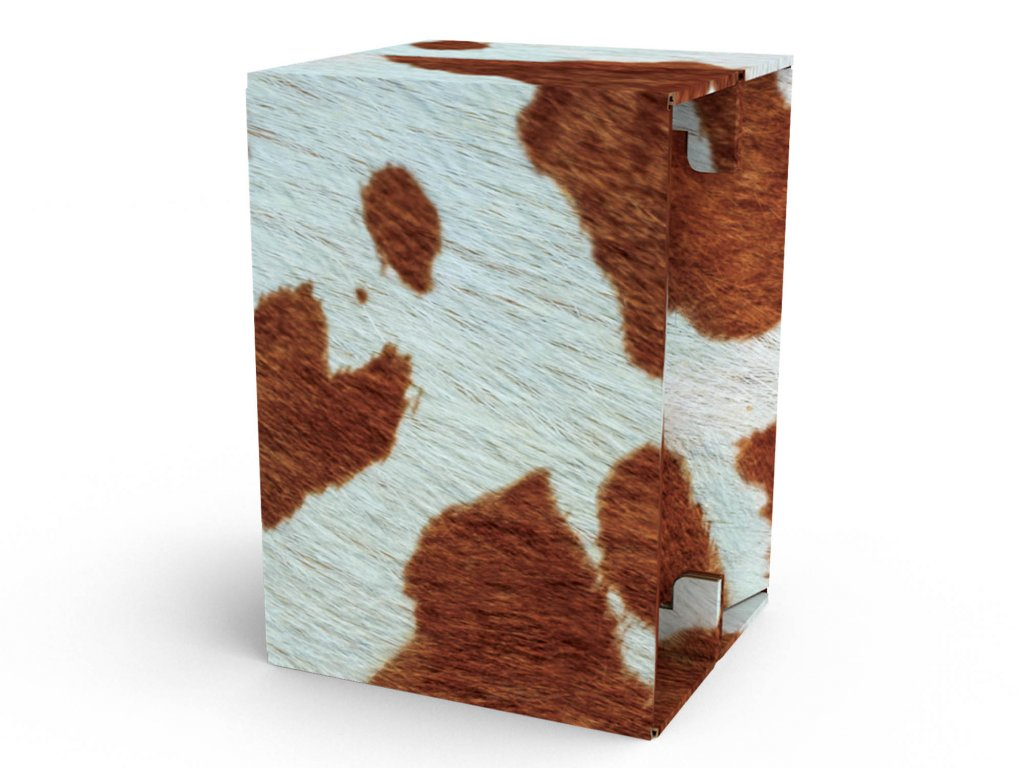 Carton Cajon Cow Fur 1