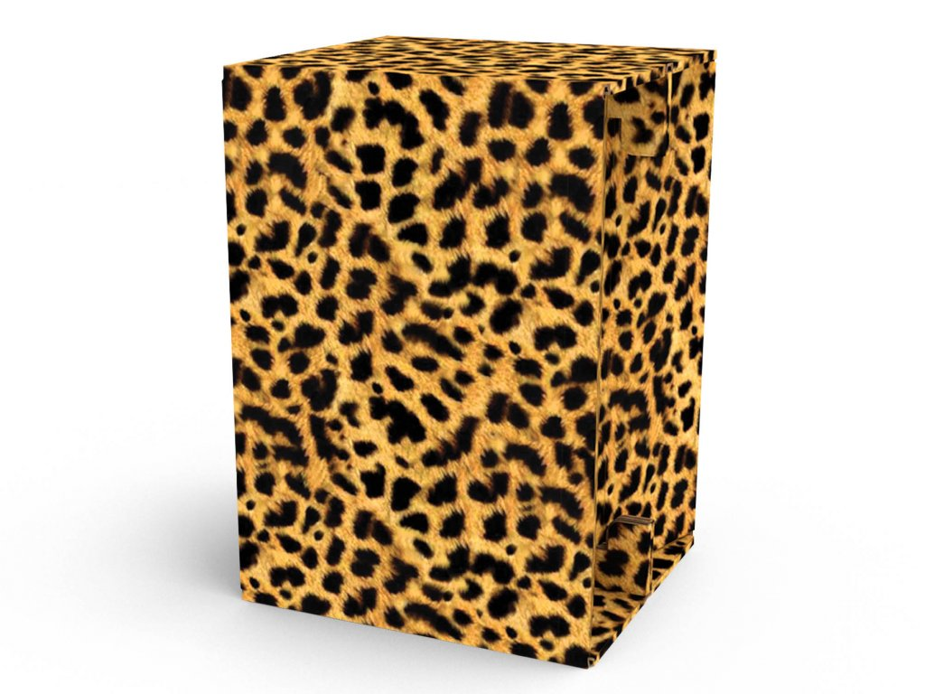 Carton Cajon Cheetah Fur 1