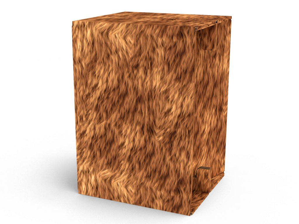 Carton Cajon Grizlly Fur 1