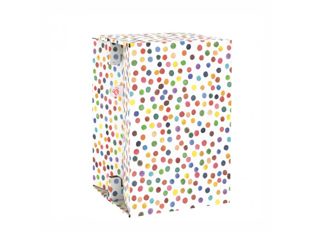 Carton Cajon Happy Dots 2