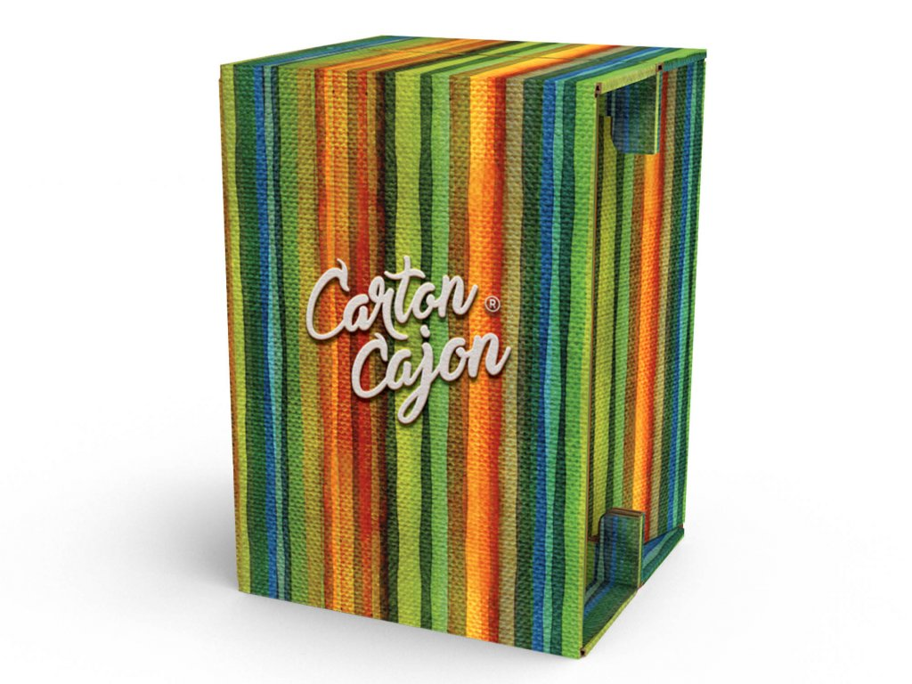 Carton Cajon Happy Stripes 1