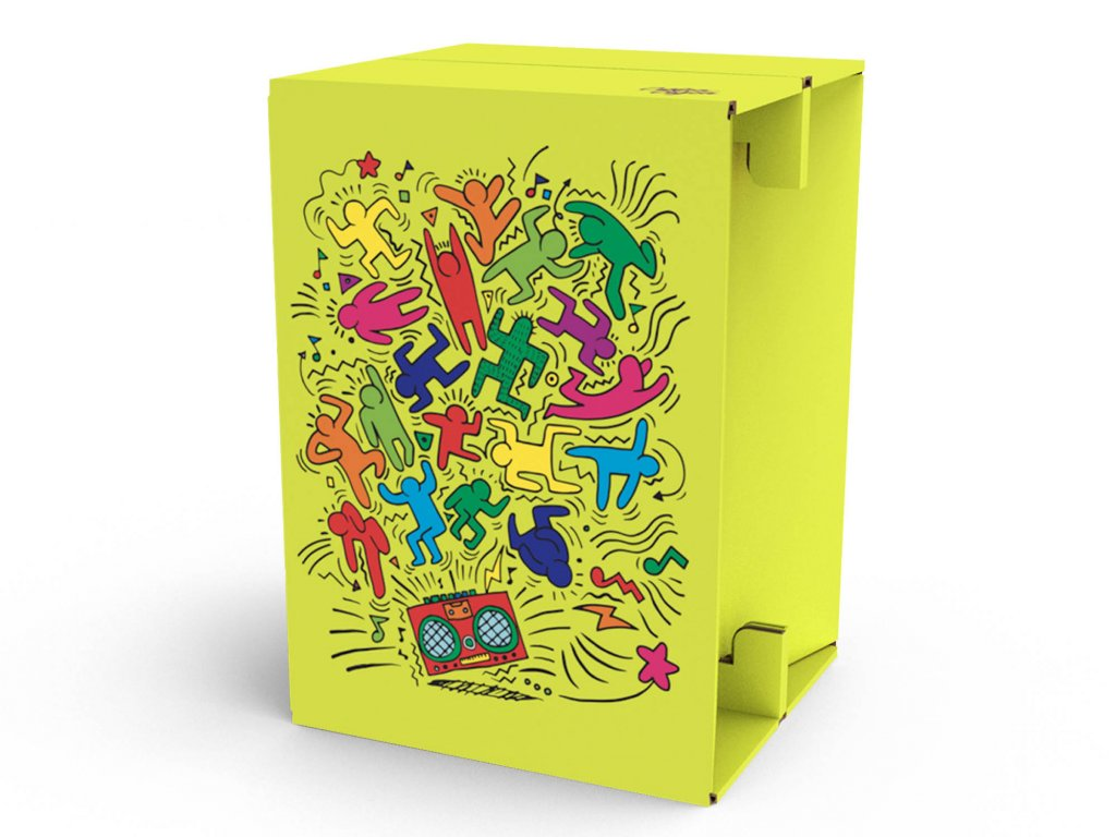 Carton Cajon Funny Party 1